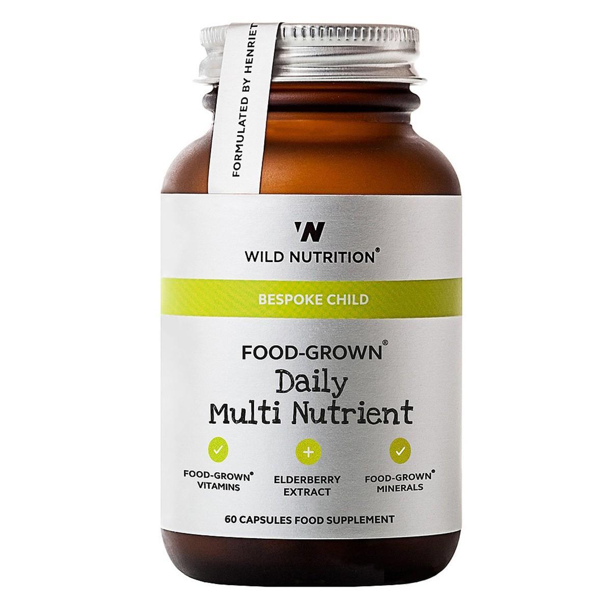 Wild Nutrition Lasten Monivitamiini 60 Kaps - Freetox 9d8afa9b8d