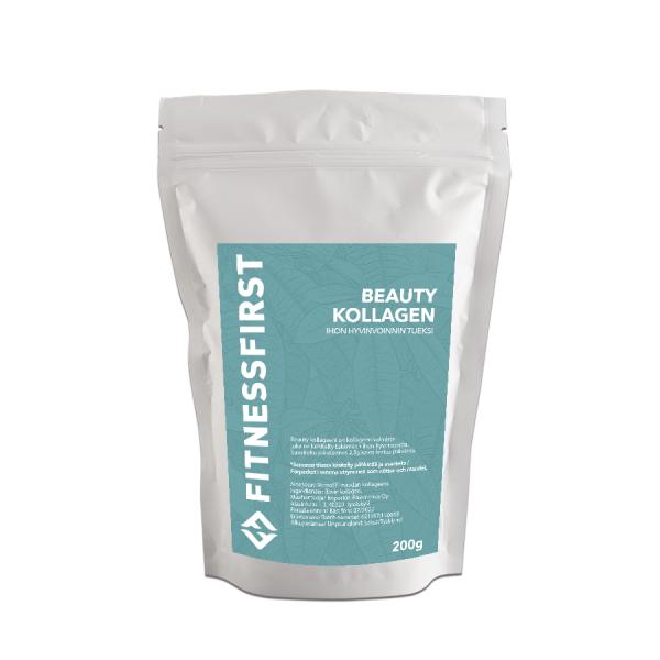 FitnessFirst Kollageeni Kauneus Verisol 200 g Kollageenien aatelia! Erityisesti ihoa, kynsiä ja hiuksia varten, sekä selluliittia vastaan.