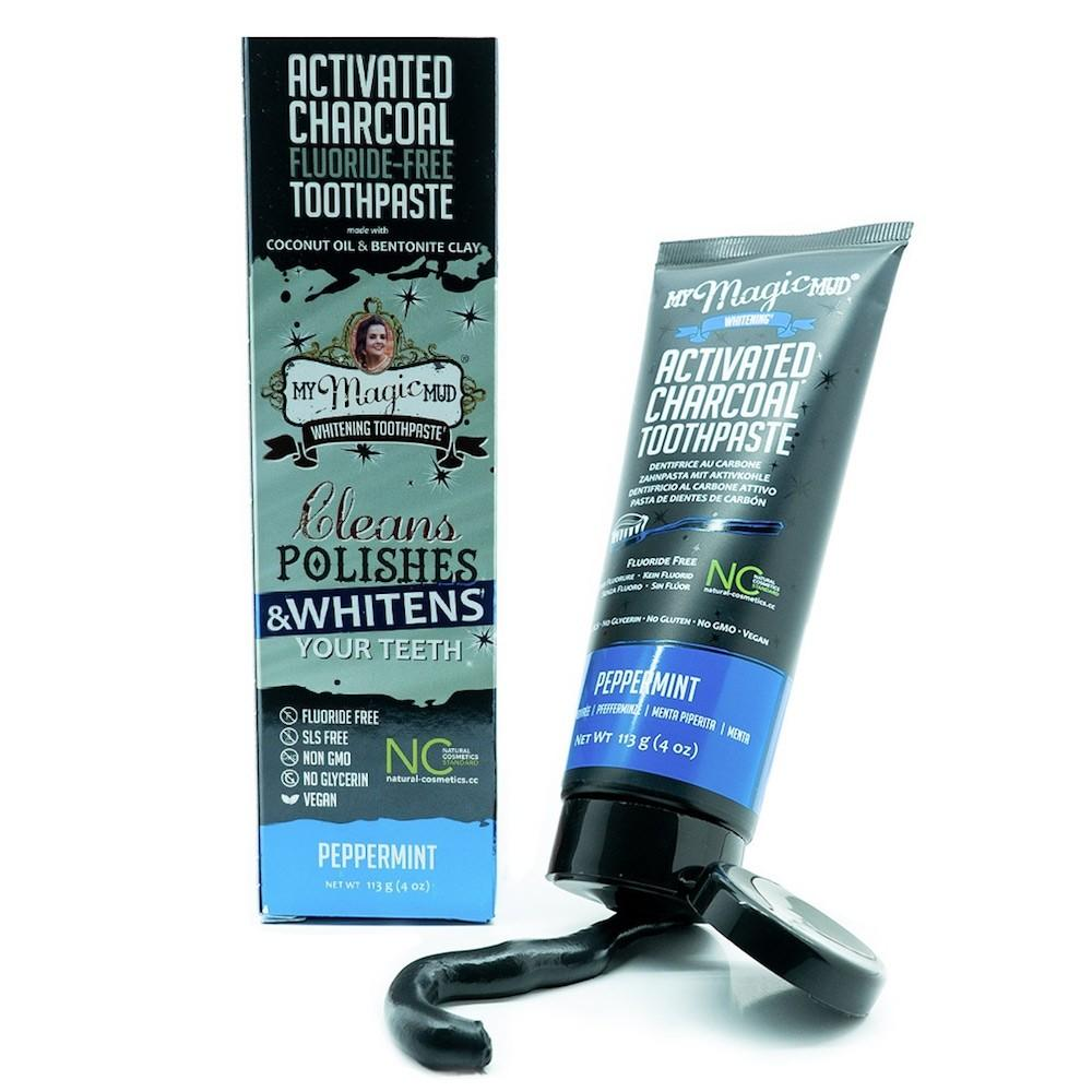 My Magic Mud Whitening Activated Carbon Toothpaste-Valkaiseva ... 1a8af77aa1