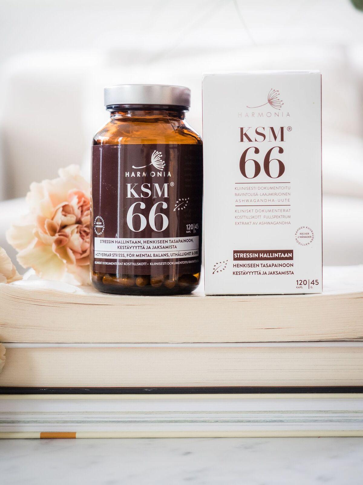 Harmonia KSM66® Ashwagandhakapselit 120kpl - Freetox 48f9e42435