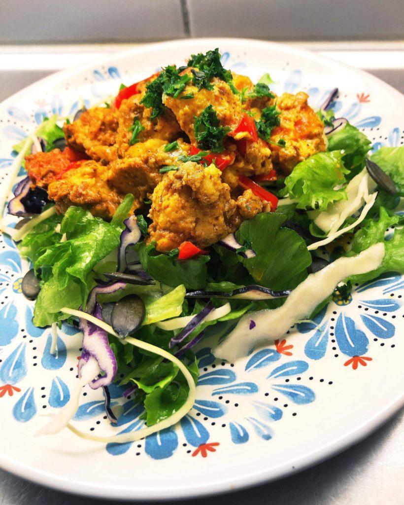 Keto - Voissa paistettuja quorneja - Ihana maistuva resepti kasvissyöjille! Helpot ja nopeat quornit valmistuvat hetkessä!