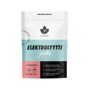 Puhdistamo Elektrolyyttijauhe Sitruuna-Lime 240 g Älä kärsi kuivuudesta! Herkullisen makuinen Elektrolyyttijauhe tehonesteyttää koko kehon!