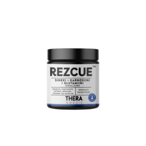 Thera Nordic Rezcue™ Juomajauhe 50 g Super-suosittu vatsalaastari pienemmässä pakkauksessa! Limakalvon kuntoa ehostava juomajauhe.