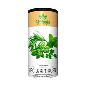 Yrttipaja Broilerimauste 15 g Erinomainen mausteseos kaikkien broileriruokien maustamiseen. Ei sisällä suolaa.