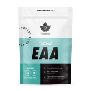 Puhdistamo Optimal EAA - Natural 350 g - Ei mitään ylimääräistä! 100% luonnollinen EAA. Välttämättömät aminohapot optimaalisessa suhteessa.